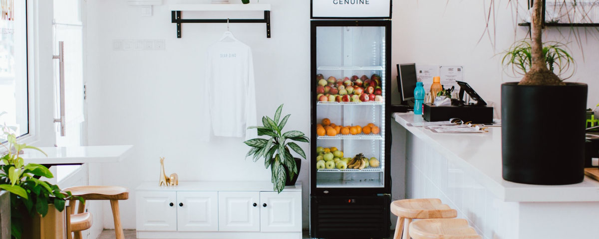 fancy køleskab