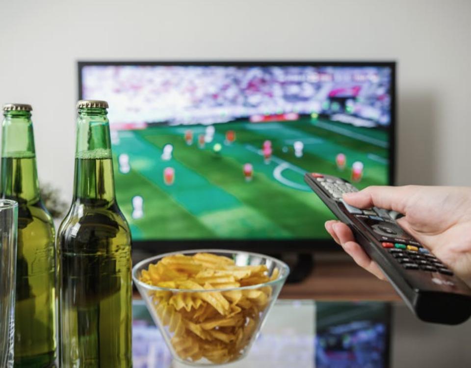 sport i fjernsynet